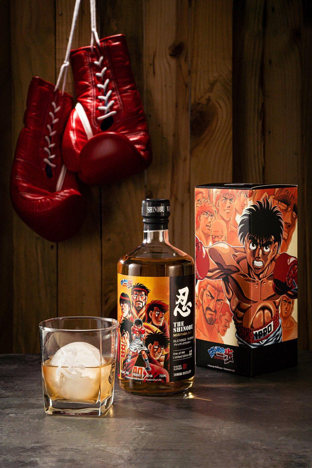 忍SHINOBU X《第一神拳》聯名威士忌第一彈,即日起7-11限量首賣,售價N...