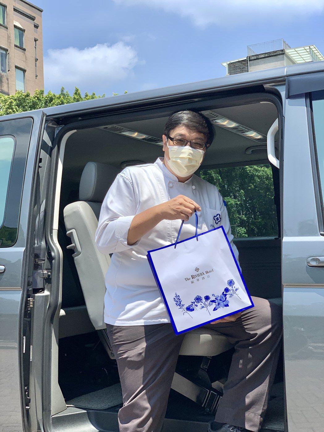 行政主廚郭榮宗說,每盒僅1,180元、惠而不費,是公司企業送禮致意的好選擇,大量...