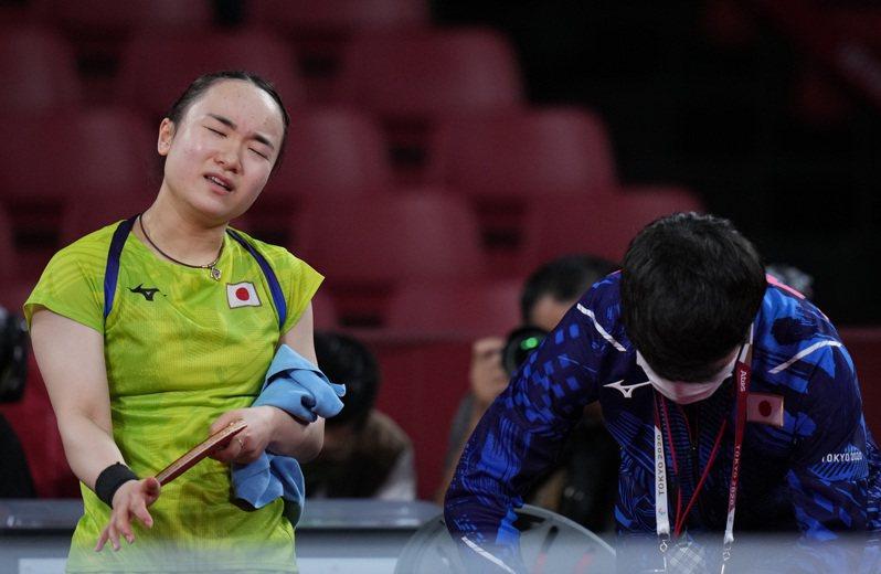 伊藤美誠敗給中國選手。 新華社