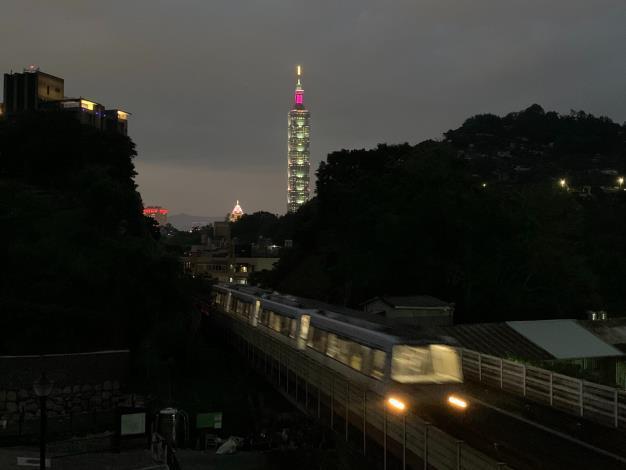 台北101。 報系資料照
