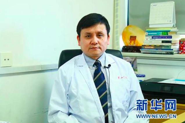復旦大學附屬華山醫院感染科主任張文宏。照片/新華網