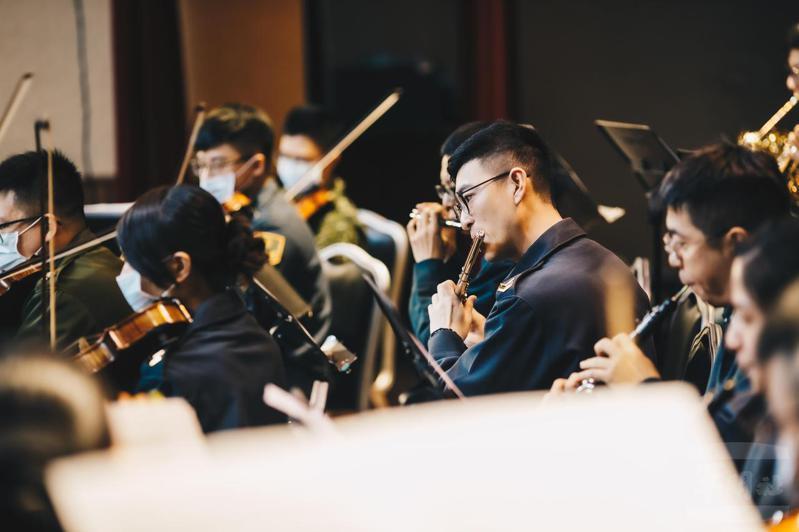 此次東奧使用的中華奧會會歌,由國防部示範樂隊從編曲、演奏到錄音全部一手包辦提供。圖/軍聞社