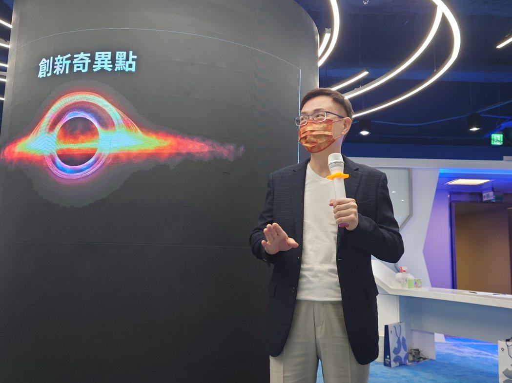 貿協董事長黃志芳說,未來創新業務中心就是貿協的「旗艦店」,肩負三大任務。記者黃淑...