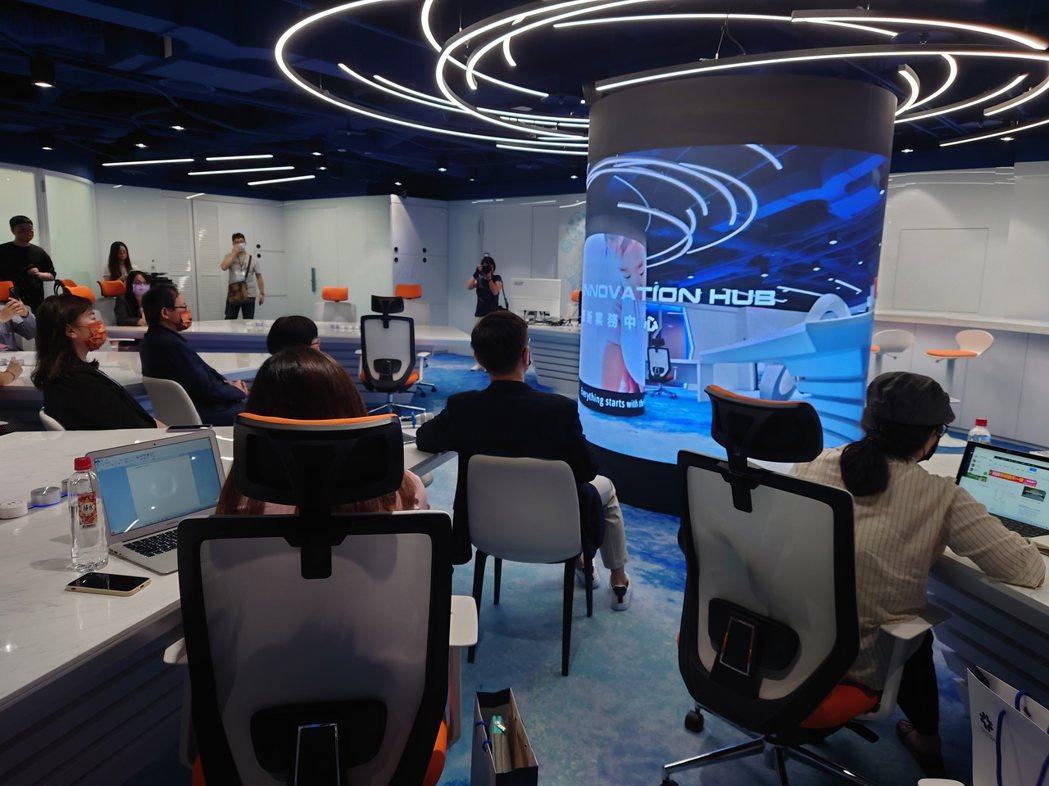 數位轉型再出招,貿協成立旗艦店「創新業務中心」。記者黃淑惠/攝