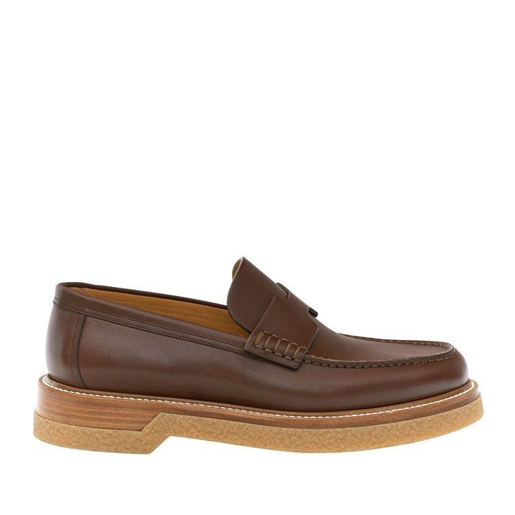 小牛皮樂福鞋,價格店洽。圖/愛馬仕提供