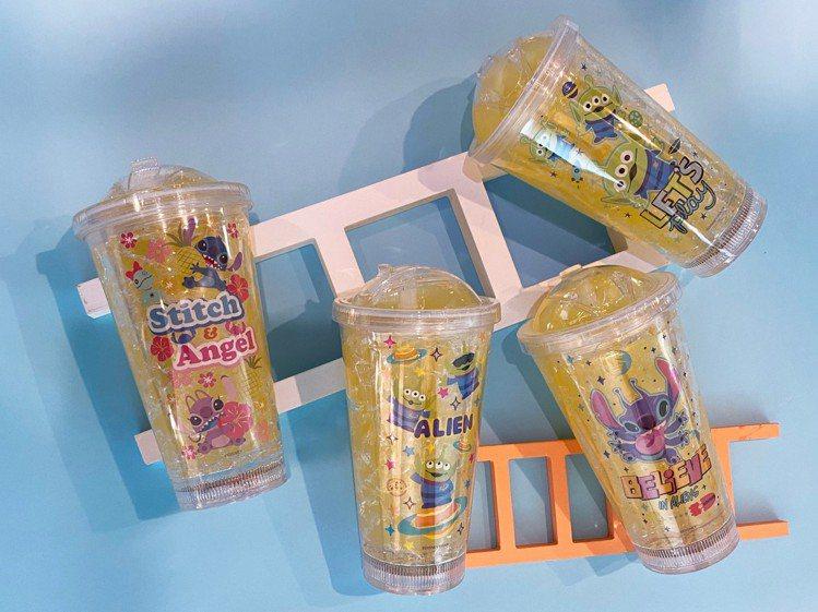 七彩水杯,每個350元。圖/信賴互動提供