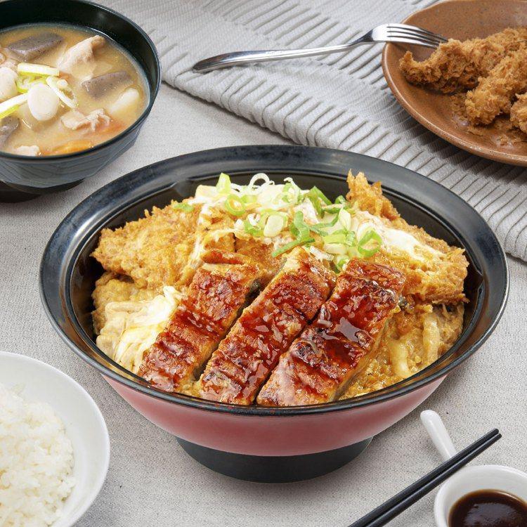 吉豚屋現推出多款應景的鰻魚丼飯。圖/吉豚屋提供