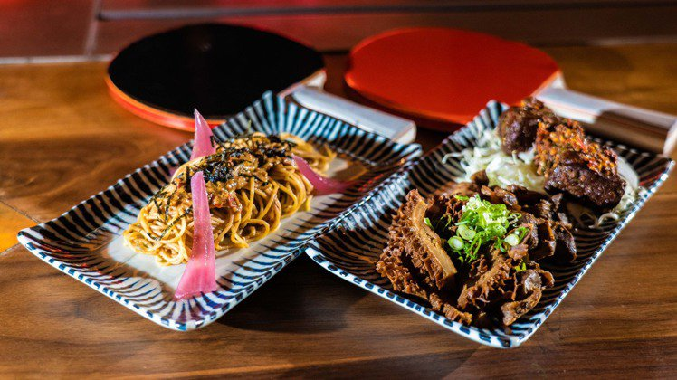 包含松露麻醬天使涼麵、招牌辣拌滷豆干與老滷牛肚雞胗的涼菜,由HiBoRu操刀負責...