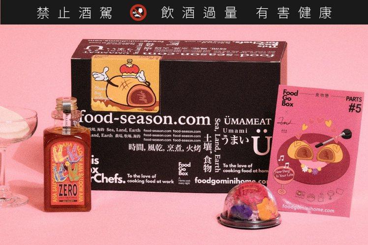 FoodGo Box聯名亞洲50大酒吧AHA Saloon,推出限量「食物戀食譜...