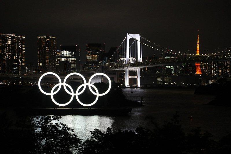 日本政府把這次奧運當成展示綠色經濟的舞台。中央社