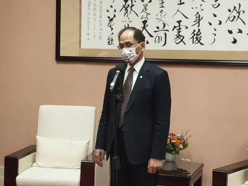 立法院長游錫堃。記者徐偉真/攝影