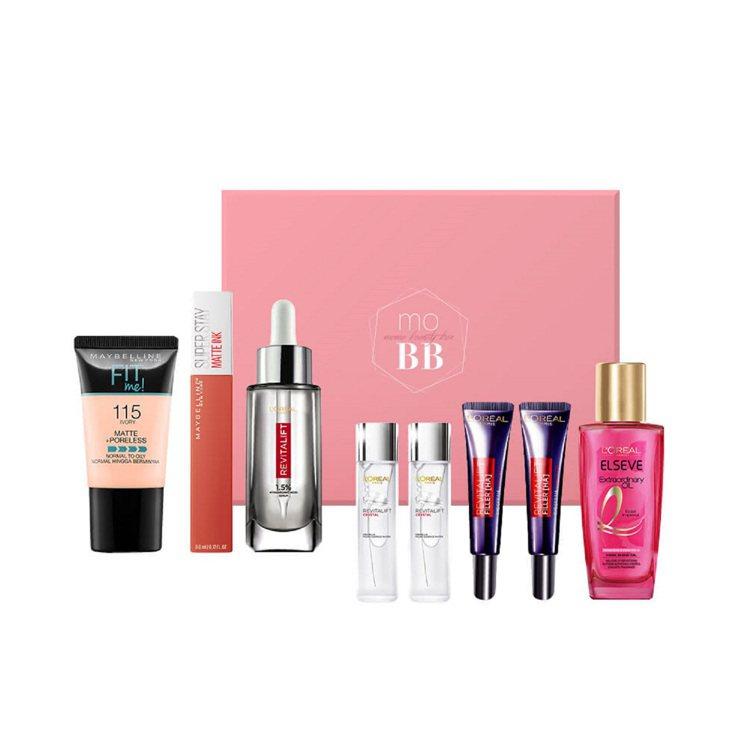 momo購物網週期購「Beauty Box美妝禮盒訂閱」服務將於8月1日正式上線...