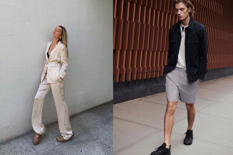 簡約時尚品牌Theory重返台灣市場,先以線上商店方式回歸,並祭出開站優惠。圖/...