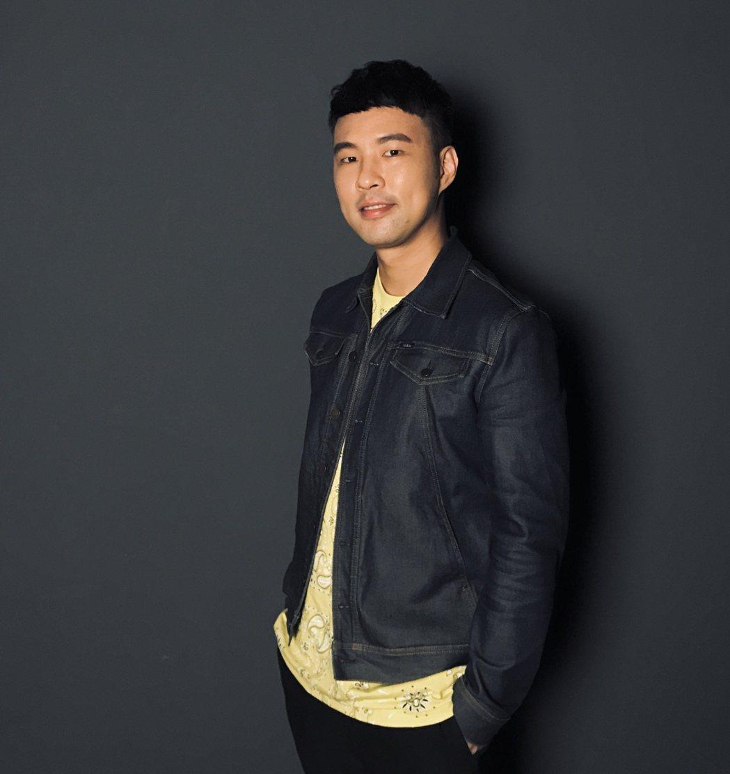 陳威全推出暖心新歌「披風」。圖/上行娛樂提供