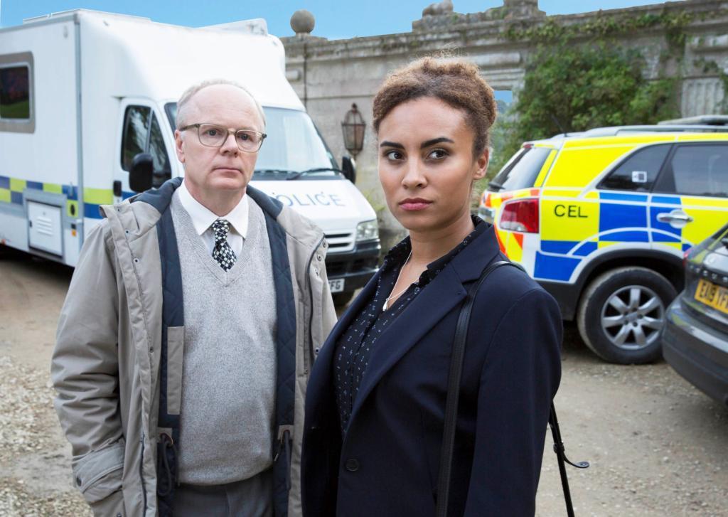 「兩極警探」由英國女星塔拉戈維亞和英國奧斯卡視帝傑森沃特金斯主演。圖/myVid