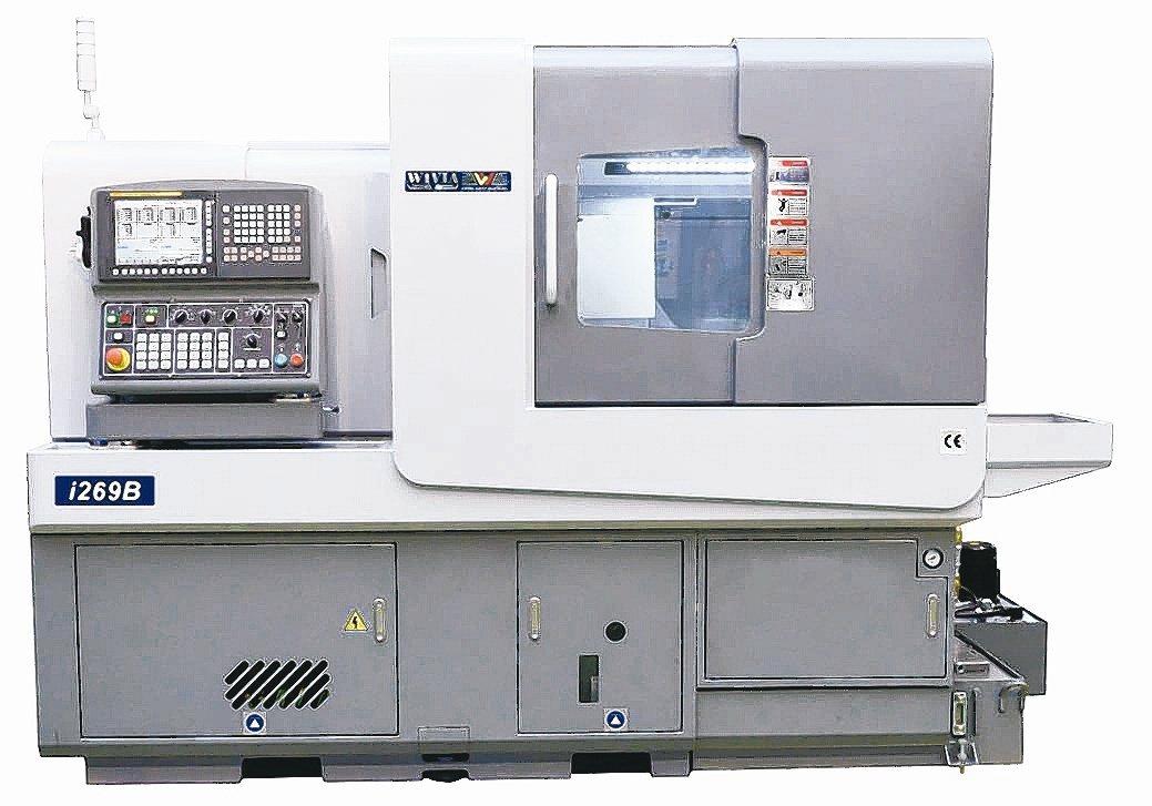 威亞i series走心式電腦車床。威亞機械/提供