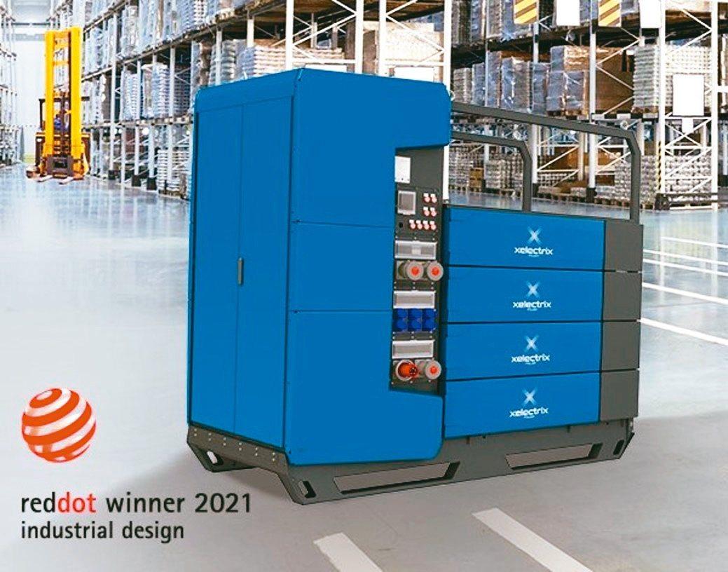 殷敬代理的奧地利Xelectrix儲能電箱。殷敬/提供