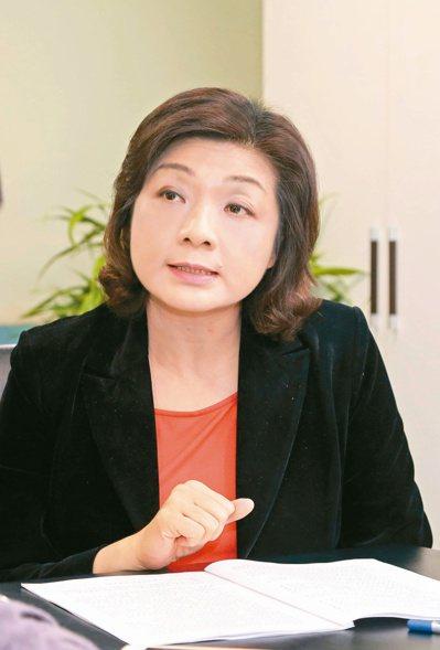 退休基金協會理事長王儷玲 (本報系資料庫)