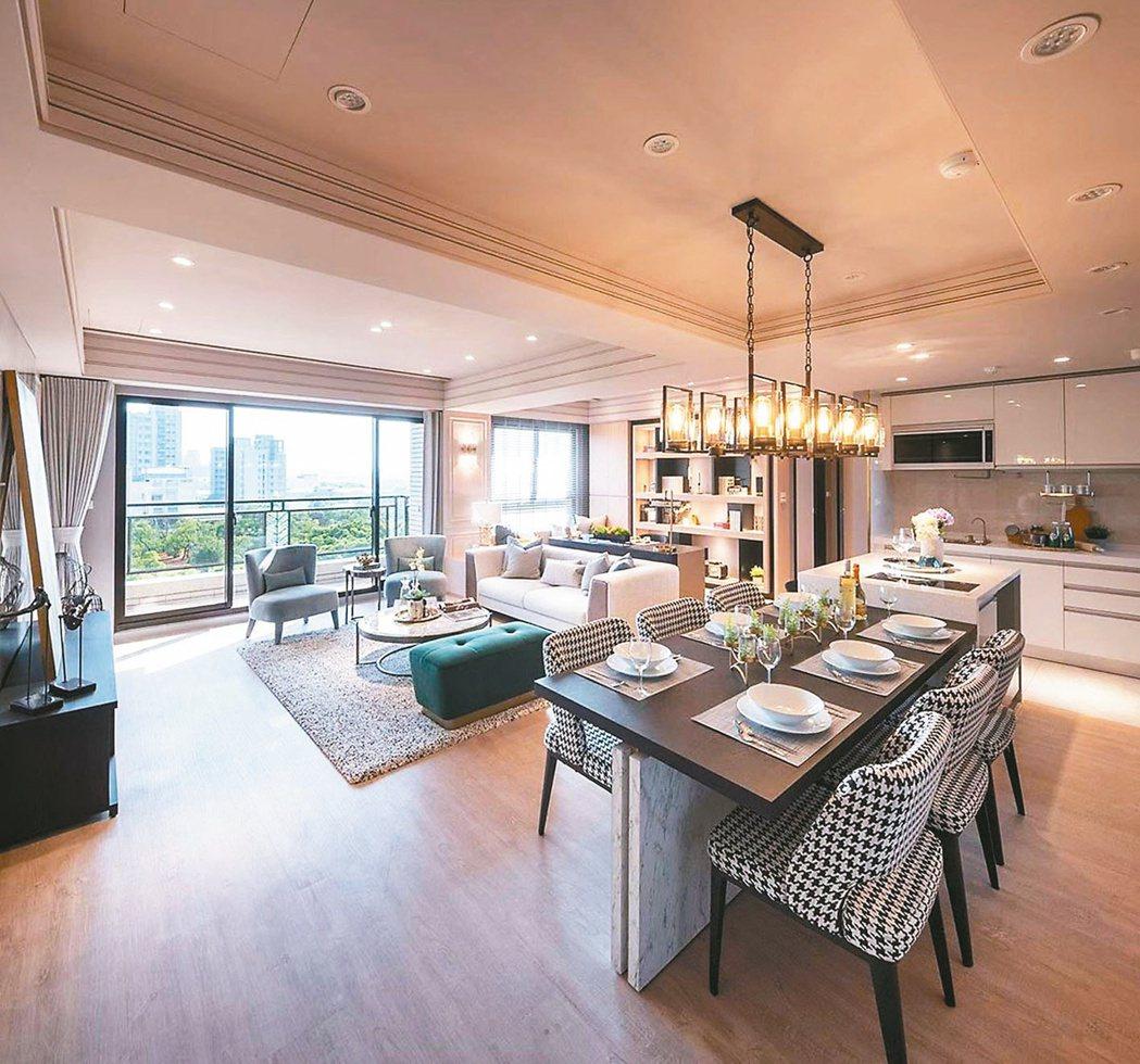 更加個性化、彈性化的布局模式,是豪宅客買屋的觀察趨勢之一。本報資料照片