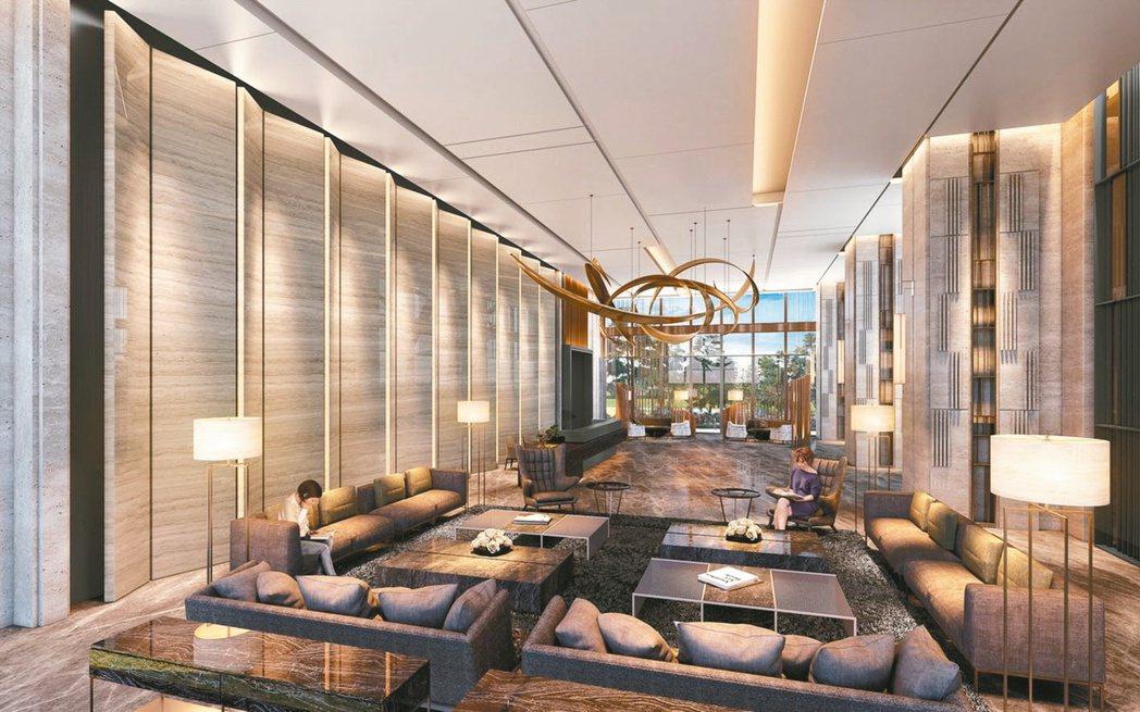 近年豪宅朝向單戶80坪以下設計,顯示豪宅客不再兩代以上同居趨勢。本報資料照片