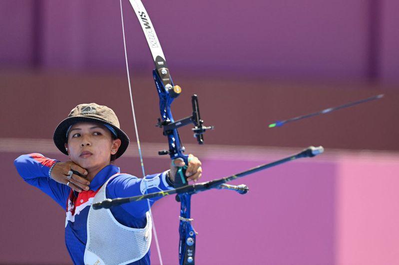 林佳恩則是在16強賽止步,女子射箭團本屆東奧全軍覆沒。 法新社
