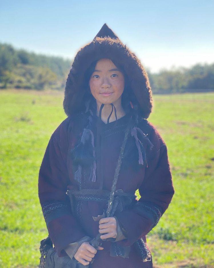 金詩雅在「屍戰朝鮮:雅信傳」前半場,主導大局。圖/摘自IG