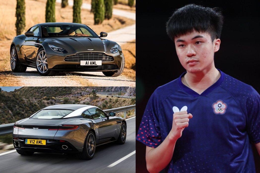 「桌球天才」林昀儒透露自己的夢想車是Aston Martin DB11。 摘自A...