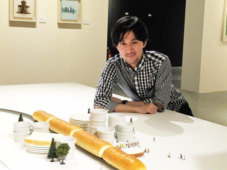 40歲的田中達也曾在2019年來台舉辦展覽。(資料照片/寬宏藝術提供)