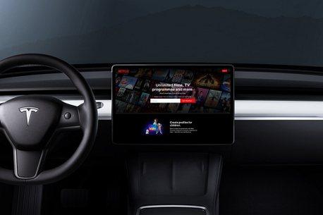 Model 3車主最愛在車上追劇!特斯拉劇院模式超級享受