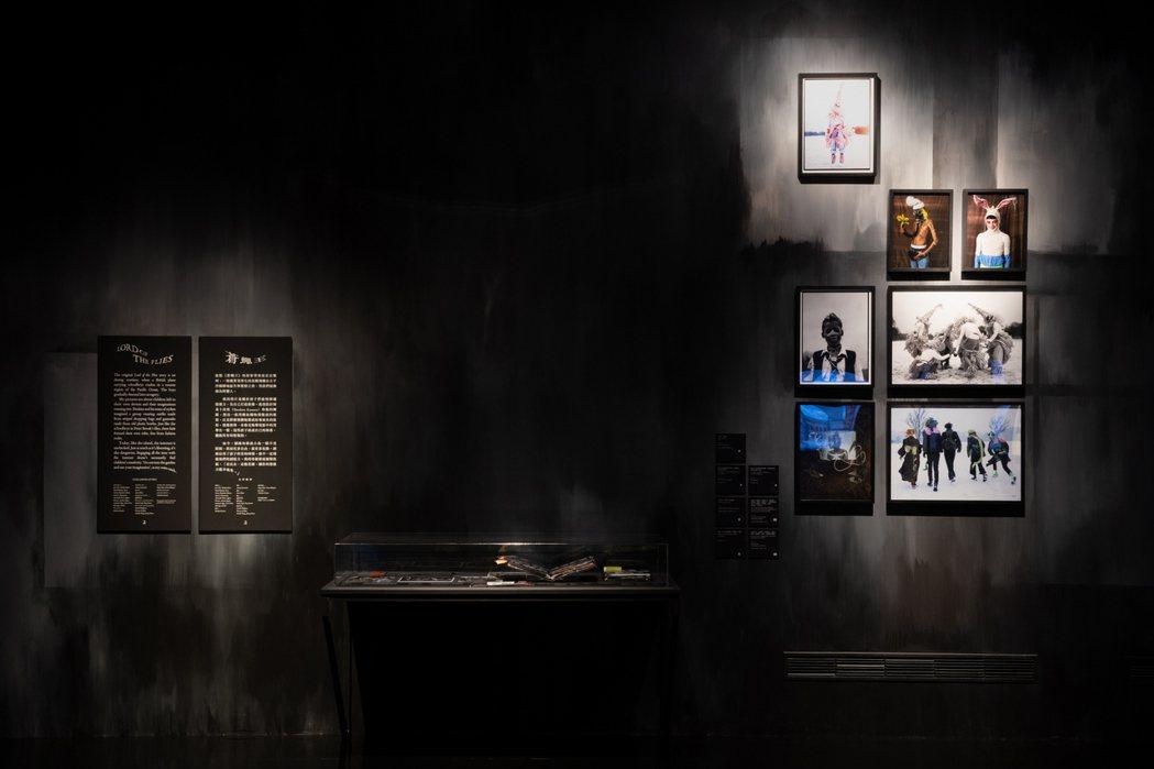 第二展區,從電影劇照產生靈感的「蒼蠅王」。 圖/奇美博物館提供