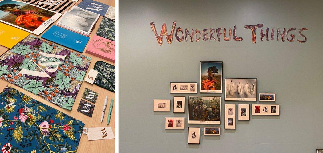 特展獨家商品同步販售,包含Tim Walker主題、V&A博物館明星商品等。 圖...