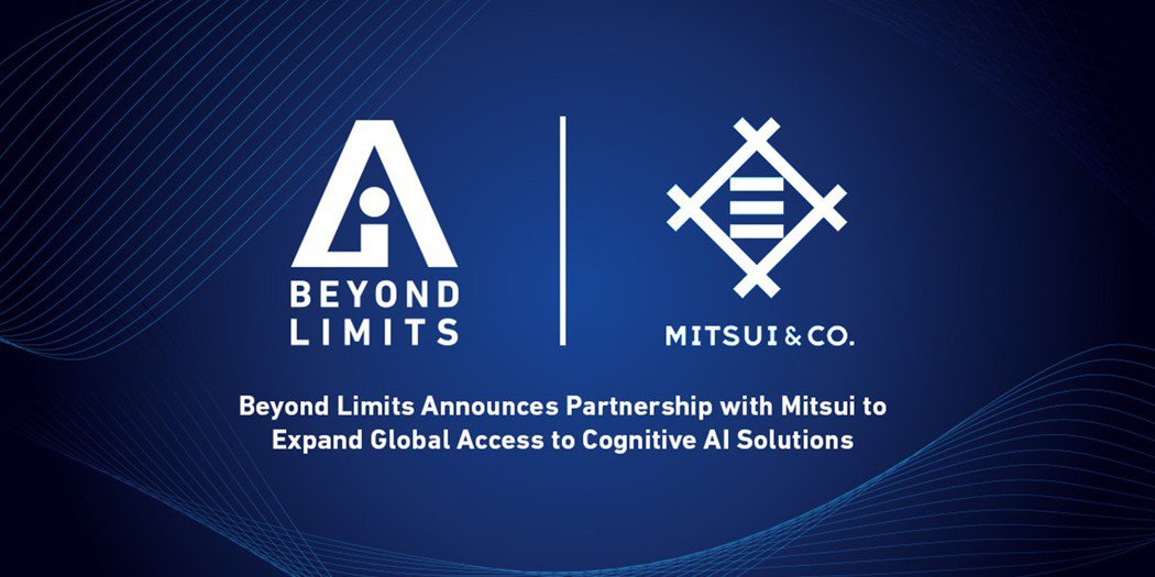 Beyond Limits宣布日本三井物產策略結盟  深化認知AI技術於多元領域...