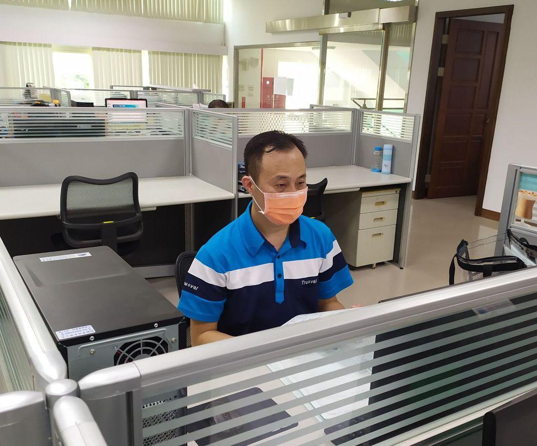 王慶堯結訓後經信紘系統科技公司留用,成為銲接助理工程師。 雲嘉南分署/提供