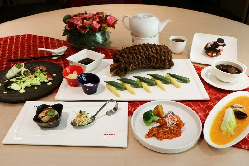 中餐廳「奇岩一號」的招牌美食。 大地酒店/提供