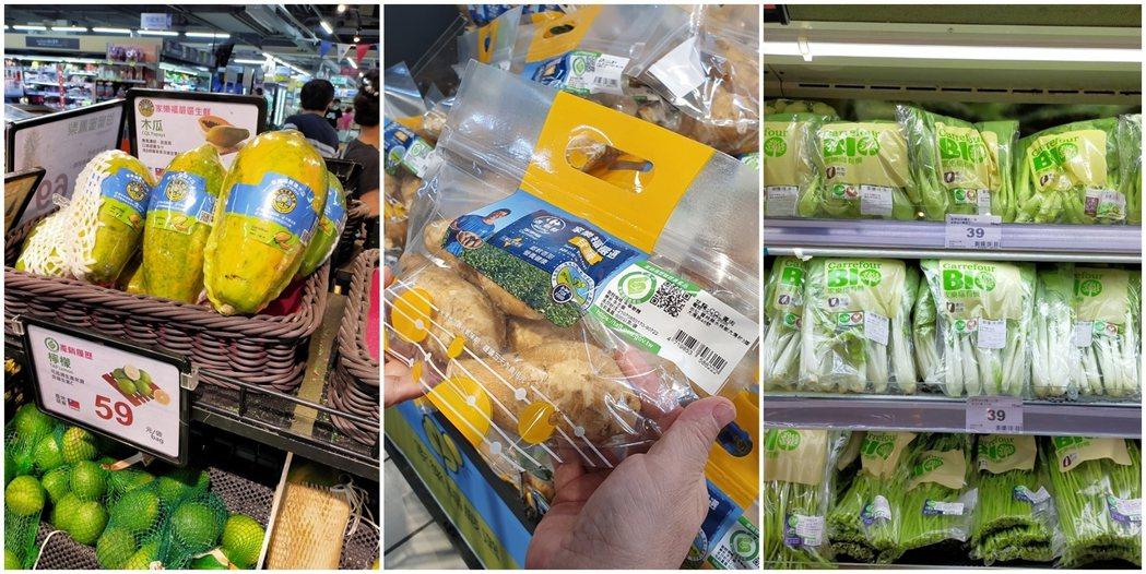 增加蔬果中營養素攝取,正確採買 健康吃。 家樂福/提供