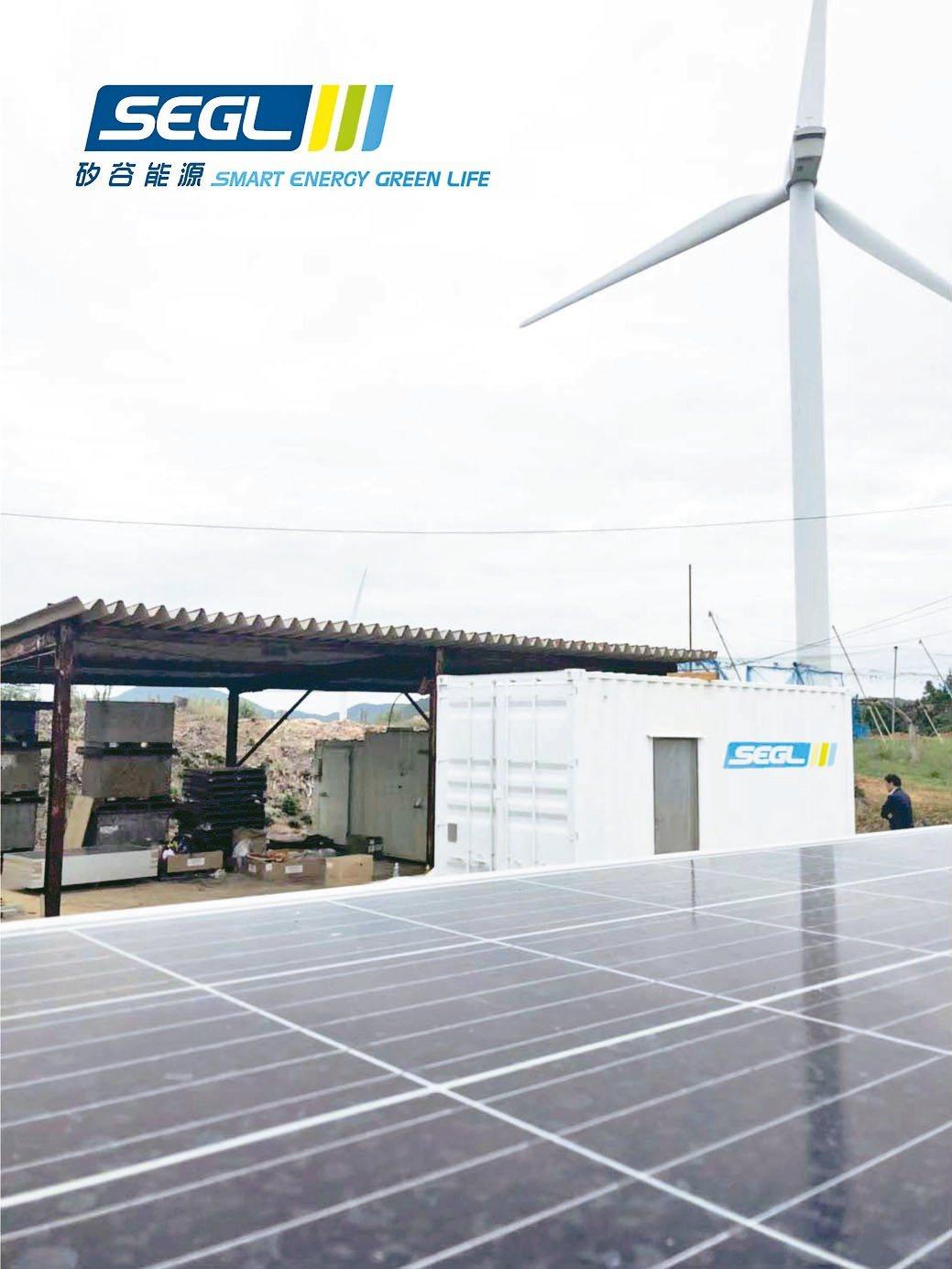 矽谷能源在日本山口縣太陽能案場-20呎500KW儲能貨櫃。矽谷能源/提供