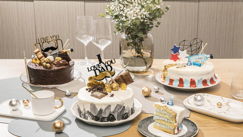 HOLA消費指定餐具滿額送父親節蛋糕。圖/HOLA特力和樂提供