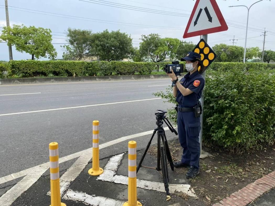 台南市麻豆警分局公布12處超速拍照取締地點。記者吳淑玲/翻攝