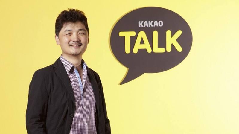 Kakao的創辦人金範洙(Brian Kim)躍居南韓首富。(網路照片)