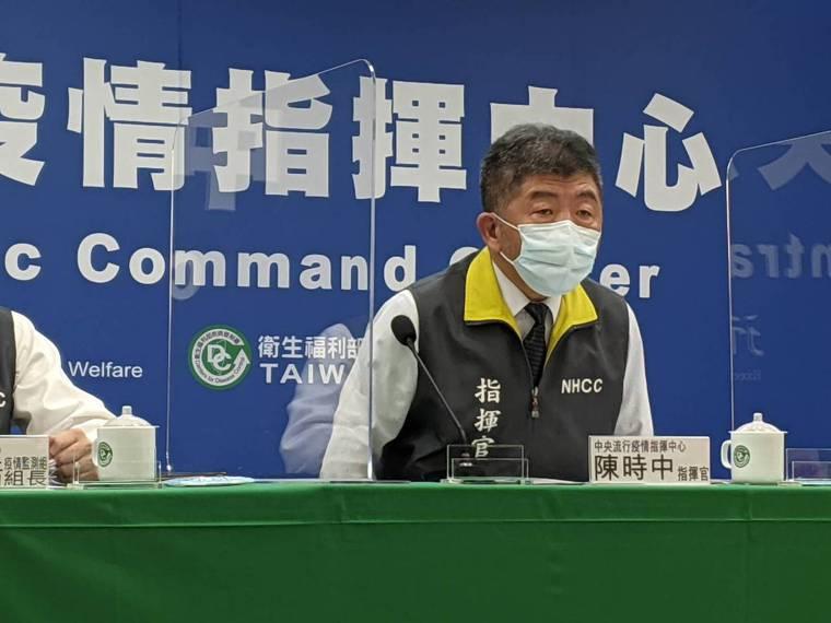 陳時中表示,中央配送會根據平台意願的回報數量來配發,但衛生局須要配發的接種點眾多...