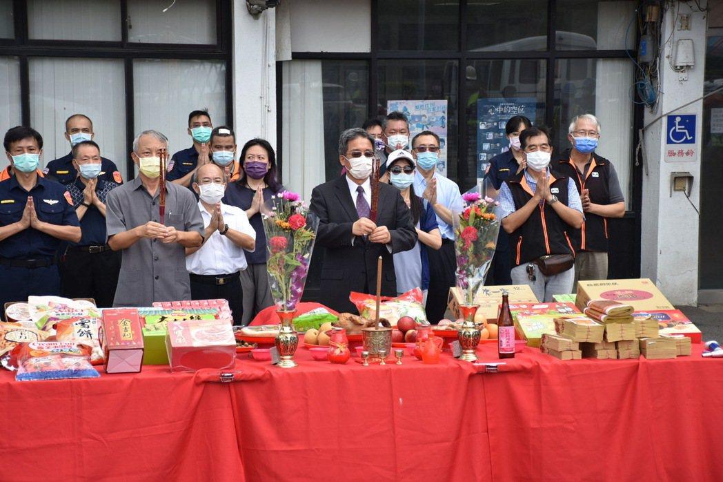 國道公路警察局楊梅分隊大樓啟用祈福典禮。   圖/高公局提供