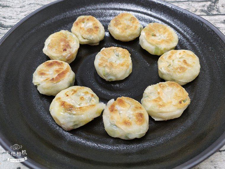 迷你蔥油餅 圖/陳芸英