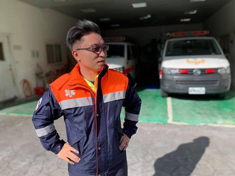 李均祈新竹縣政府消防局緊急救護教官 圖/李均祈提供