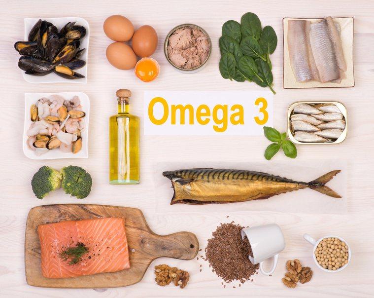 富含Omega3的食物 圖/123RF