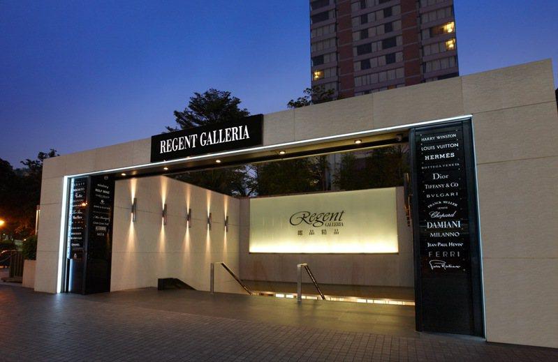 台北晶華酒店擁有「全台精品首府」之稱的麗晶精品,度假也能同時滿足購物。圖/晶華酒店集團提供