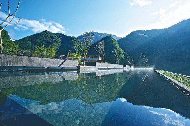 太魯閣晶英酒店擁有得天獨厚的地理位置、景觀壯麗優美。圖/晶華酒店集團提供