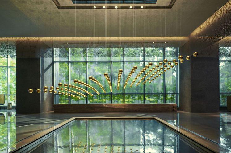 高雄晶英行館主打風格為精品藝術的低調奢華感。圖/晶華酒店集團提供