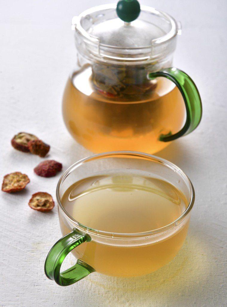 山楂入茶,清爽滋味適合夏日飲用。圖/幸福文化 提供