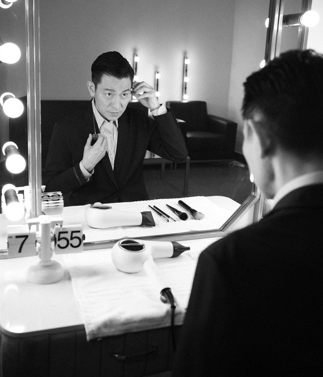 劉德華開心收「你比梁朝偉帥多了」稱讚。圖/台灣映藝提供