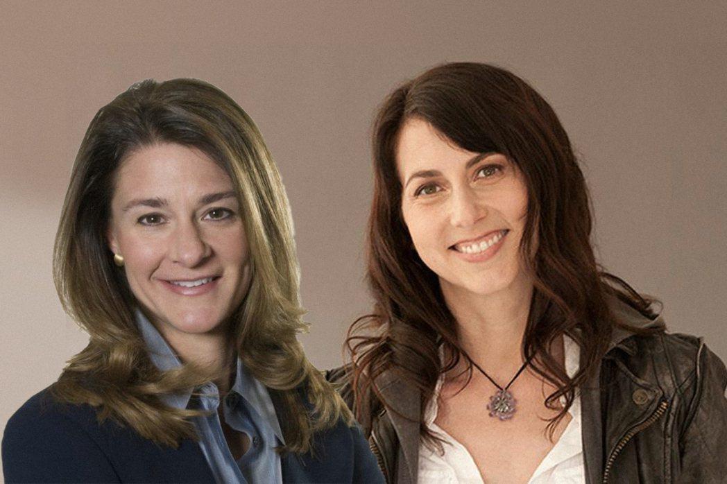 梅琳達(左)、史考特(右)。網路照片